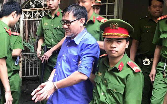 Bị cáo Hồ Văn Hải tại phiên sơ thẩm.