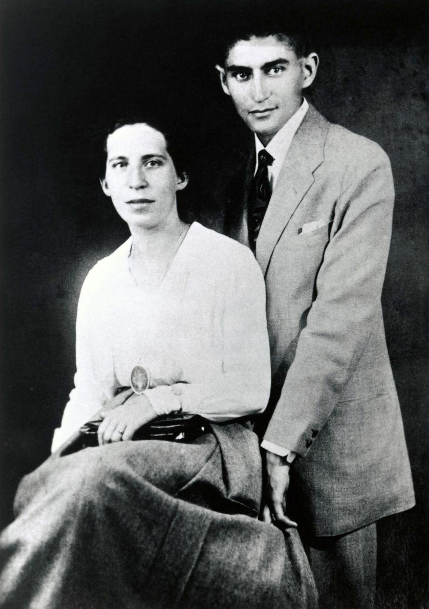 Ảnh: Kafka và Felice.