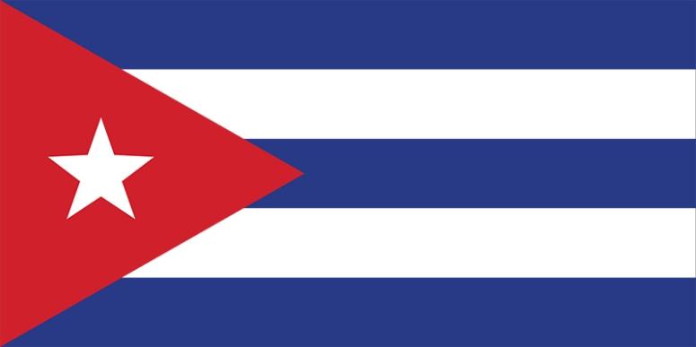 Ảnh 3: Quốc kỳ của Cuba, Phidel Castro giữ nguyên lá cờ của người tiền nhiệm Batista.