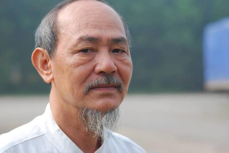 Ảnh: Văn hào Phạm Thành, chủ tịch đầu tiên ( thời kỳ mới)  của Trung tâm Văn bút Việt Nam.